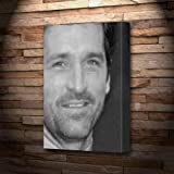 PATRICK DEMPSEY - Canvas Print (A5 - Signed by the Artist) #js001