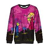 Morbuy Damen Herren Pullover/Sweatshirt, Casual Pullover Langarm T-Shirt Rundhals Ausschnitt Lose Bluse Oberteil Hemd Tops Männer und Frauen (M)