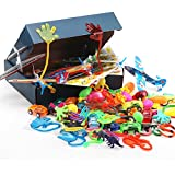 Amy & Benton Party Prizes,120PCS Party Bag Fillers Toys for Kids,Children Birthday Party Favours Assorted Toy for Pinata,Carnival Prizes Bild 1
