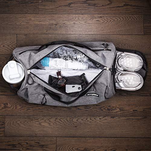 Zoom IMG-2 fitgriff polsiere borsa sportiva grau