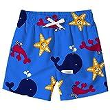 Idgreatim Ragazzi Bambini Shark Stampato Casuale Costume da Bagno Cool Outdoor Shorts Board Shorts con Tasche