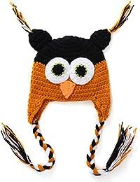 SAMGU Tricot Crochet Bébé Enfant Enfants Eagle Hibou Chapeau Beanie Photo Prop