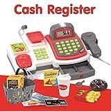 Koolbitz Realistic Cash Register Till Pretend Role Play Supermarket Toy Play Money Mic
