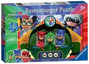 Ravensburger UK 08663 Ravensburger PJ Masks Rompecabezas de 35 Piezas,
