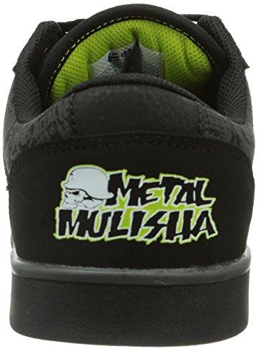 Etnies - Metal Mulisha Jefferson, Scarpe da Skateboard Uomo Nero (Schwarz (001/BLACK))