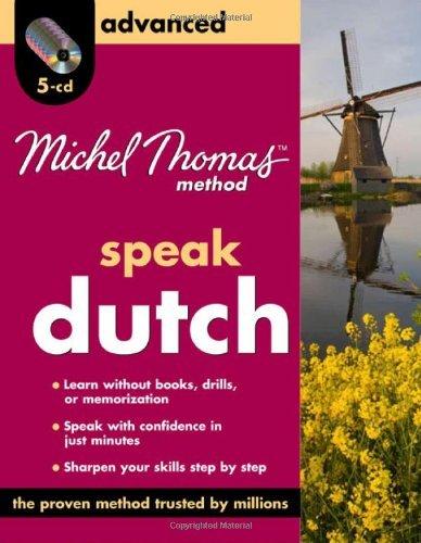 Michel Thomas Method??Dutch For Beginners, 8-CD Program by Cobie Adkins-de Jong (April 10,2009)