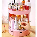 Trucco Organizzatore Porta Scorrevole Profumi Cosmetici Espositore Stand Box A Camera da Letto Bagno E Soggiorno Rosa