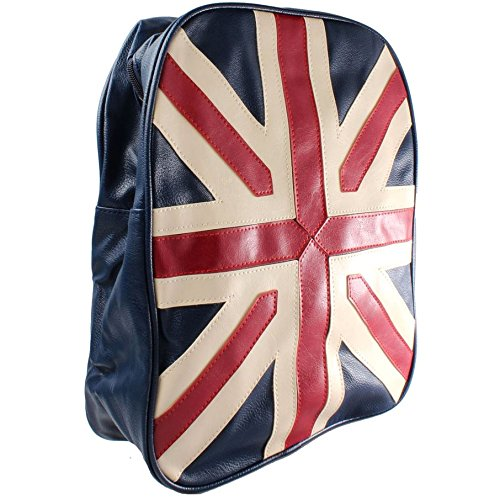 Funky Retro Union Jack Petite Backpack Sac à Dos
