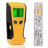 Ortungsgerät,ZOTO 3 in 1 Detektor Holz,Multifunktions Leitungssucher mit LCD Bildschirm,Digitales Stud Finder für Metall,Rohre,Holz,Stromleitung,Balkenfinder