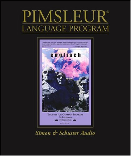 English for German Speakers: Learn to Speak and Understand English with Pimsleur Language Programs