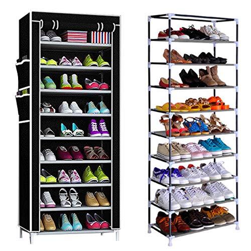 Mlu MultiWare Schuhregal Schuhständer Schuhablage Schuhschrank Schuhe Aufbewahrung 10 Ebenen Für 40 Paar -