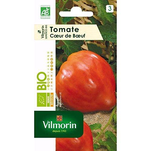 VILMORIN Sachet graines bio Tomate CoeUR DE BoeUF