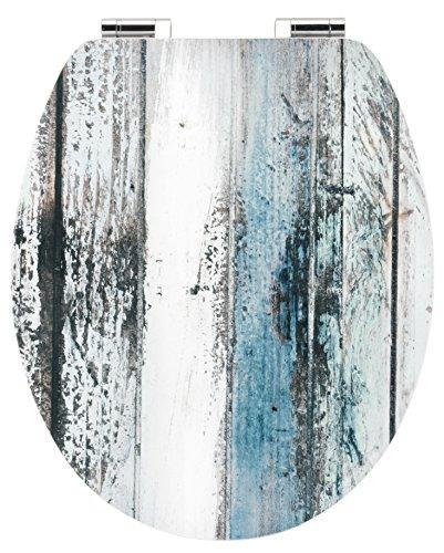 Cornat WC-Sitz Art of Acryl WOODEN / Toilettensitz / Toilettendeckel / Klodeckel / WC-Deckel / Absenkautomatik / Holzkern (MDF) / KSDSC308