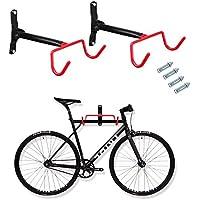 Fahrrad Aufh/ängung Wandhalterung klappbar Fahrradlift Wandhalter 2-3 Fahrr/äder maximal 40kg pulverbeschichtet