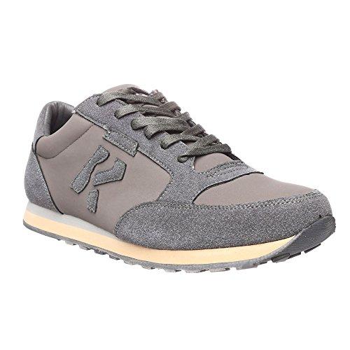 RIFLE Sneakers da uomo, scarpa bassa stringata - Mod. 162-M-318-448 Grigio