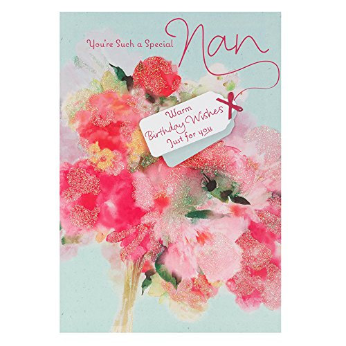 Hallmark Birthday Card For Nan 'You Deserve The