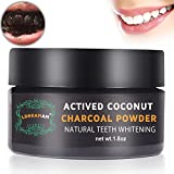 Activated Charcoal Teeth Whitening Powder,Activated Coconut Charcoal Powder for Stronger Healthy Whiter Teeth,Mint Flavor Bild 4