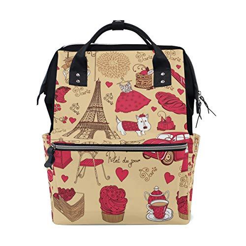ancy Paris Schulrucksäcke Reisetasche ()