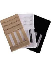Generic Women's Elastic Bra Strap Extension (Pack of 3)
