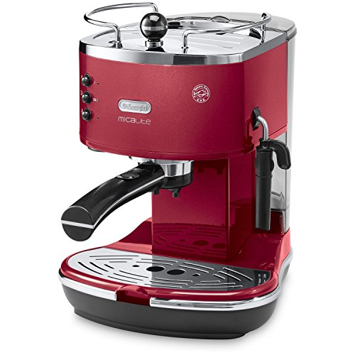 DeLonghi De Longhi Delonghi ECOM310.R Icona Micalite Espresso Coffee Machine - Red