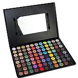 JasCherry 88 Farben Lidschatten Makeup Palette Set - Sleek Pulver Augenschatten Professional Make Up Etui Box - Satte Farben Kosmetik Eyeshadow Palette Kit #3