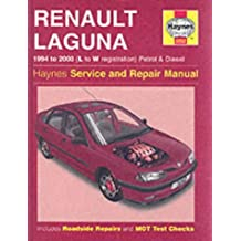 Renault Laguna Petrol & Diesel (94 - 00) L To W (Haynes Service and Repair Manuals)