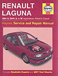Renault Laguna Petrol & Diesel (94 - 00) Haynes Repair Manual (Haynes Service and Repair Manuals)