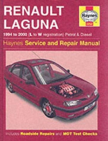 Renault Laguna Petrol & Diesel (94 - 00) L To W (Haynes Service and Repair Manuals) por Haynes Publishing