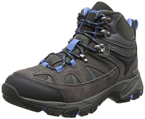 Hi-Tec Altitude Lite Ii I Waterproof, Chaussures de Randonnée Hautes Femme Gris (Warm Grey/charcoal/cornflower 051)
