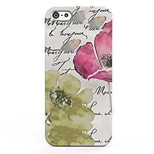 Koveru Designer Printed Protective Snap-On Durable Plastic Back Shell Case Cover for Apple iPhone 5S, iPhone 5, iPhone SE - Pop of Colour