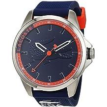 Lacoste 2010842 - Reloj analógico de pulsera para hombre, correa de silicona