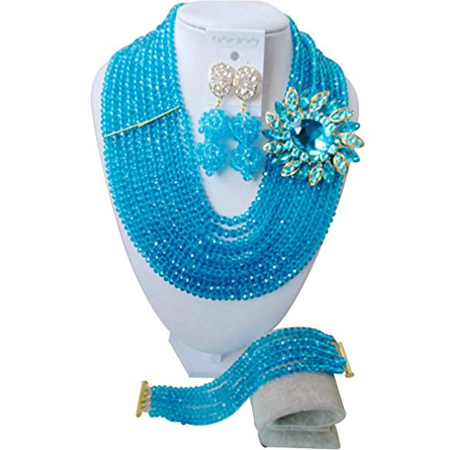 laanc-fashion-10-rows-light-blue-african-jewelry-beads-african-wedding-beads-jewelry-set