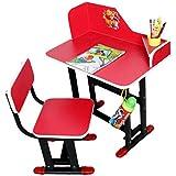 Study Table Chair Set For Kids Unisex Desk For Boys & Girls - Wood & Steel