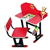 #5: TruGood Study Table Chair Set For Kids (Wood & Steel) - Multi Color