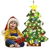 Bageek Weihnachtsbaum DIY,Fansport DIY Weihnachtsbaum Dekoration Abnehmbare Weihnachtsbaum Weihnachten Geschenk für Kinder Kinder Weihnachtsgeschenke Dekorationen Wand Hänge Weihnachten Kit
