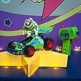 Dickie Toys 201134004 RC Toy Story Poussette Toys 201134004-RC Buzz-Figur Voiture télécommandée avec Fonction Turbo Vert/Blanc/Bleu 20 cm