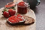 FRUCHTAUFSTRICH Erdbeere Low Carb, ohne zugesetzen Zucker, mit Xylit