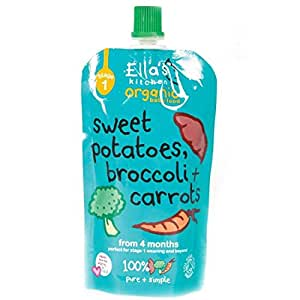 Ella's Kitchen | Sweet Potato,Broccoli,Carrot | 7 x 120G