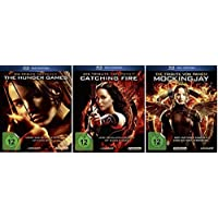 Blu-ray Set * Die Tribute von Panem Teil 1+2+3 (The Hunger Games+Catching Fire+Mockingjay 1) * Fan Editionen