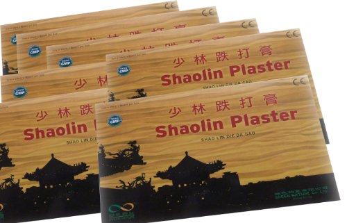 80 Stück SHAOLIN PFLASTER , 10 x 7 cm aus China - Green Nature, preiswerte Großpackung