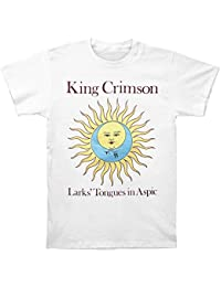 King Crimson hombre Larks Tongues en Aspic blanco camiseta blanco