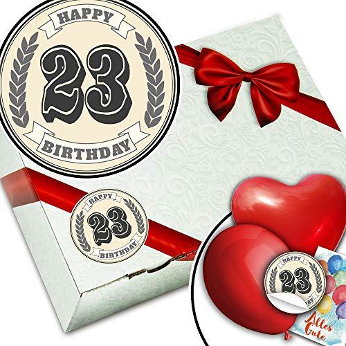 Geschenke Verpackungs Sets + Geschenke 23 Geburtstag Mann ()