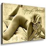 Kunst auf Leinwand Marilyn Monroe Bild fertig auf Keilrahmen ! Pop Art Gemälde Kunstdrucke, Wandbilder, Bilder zur Dekoration - Deko. Film / Movie / Tv Stars Kunstdrucke