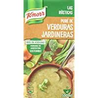 Knorr Rusticas Puré de Verduras Jardineras - 500 ml