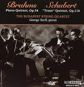 Brahms - Schubert : Quintettes pour piano