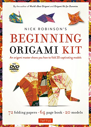 nning Origami Kit: An Origami Master Shows You How to Fold 20 Captivating Models: Kit with Origami Book, 72 High-Quality Origami P ()