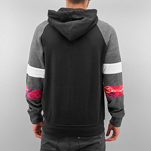 Just Rhyse Uomo Maglieria / Hoodies con zip Toulon Nero