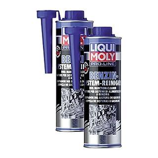 2x LIQUI MOLY 5153 Pro-Line Benzin-System-Reiniger Kraftstoff Additiv 500ml