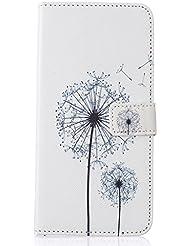 Samsung Galaxy A9Pro Funda de piel, w-pigcase colorida Exquisito PU Funda de piel con diseño de Lovely y cómodo feelling para iphone 5/5S/Se