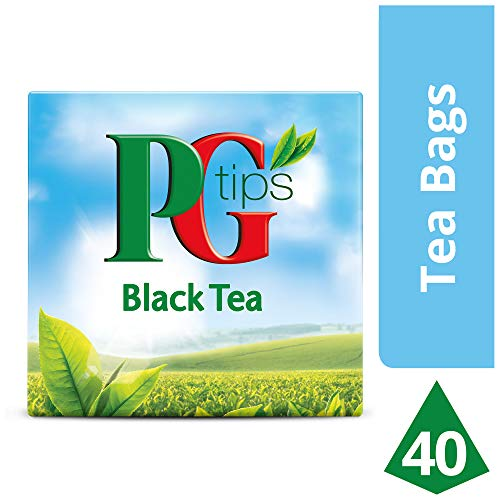 PG Pirámide Infusión Té Negro - 40 bolsitas